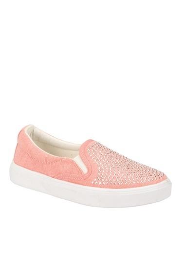 Pink Step Spor Ayakkabı Somon